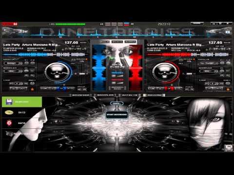 Nuevo Skin Dark Elegant 3D para Virtual DJ 7 2013