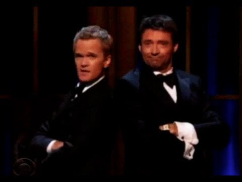 Tony Awards 2011 - Hugh Jackman vs Neil Patrick Harris SUB ITA