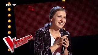 Dalina Nemes - Photograph| Blind Auditions | The Voice of Romania 2018