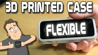 How to 3D print your own rubber cell phone case.