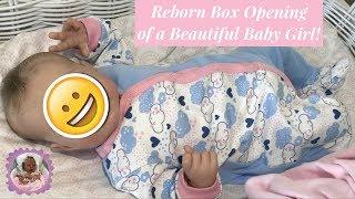 REBORN BOX OPENING of a Beautiful Baby Girl