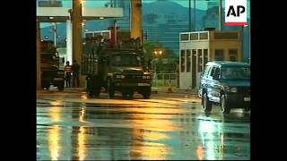 HONG KONG: PEOPLE'S LIBERATION ARMY ARRIVE AFTER HANDOVER