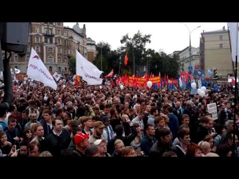 Moscow anti Putin rally(2)