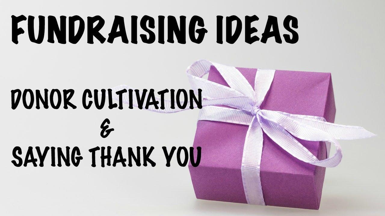 Fundraising ideas for nonprofits