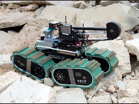 wireless earthquake rescue robot