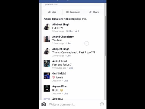 Facebook Auto commenter With Android app 2015 (100% working with proof)