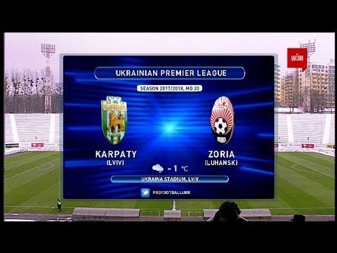 Матч ЧУ 2017/2018 - Карпаты - Заря - 0:2.