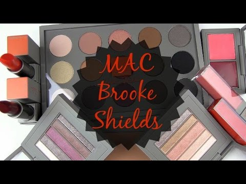 MAC Brooke Shields Collection: Live Swatches & Review