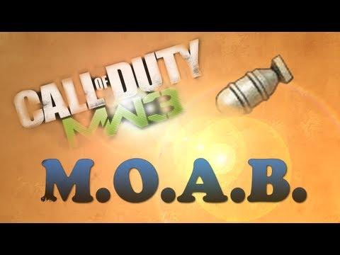 Bomba Nuclear (M.O.A.B.) - Modern Warfare 3 - Dominio en Arkaden Scar-L de Oro