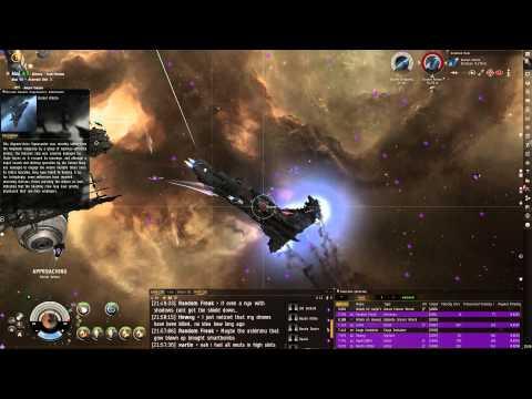eve online lv.4 anomic base(;cruiser burner mission) angel