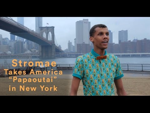 """Stromae Takes America - """"Papaoutai"""" in New York City"""
