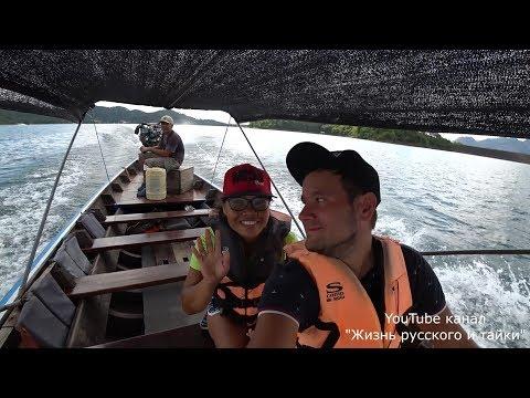 Разбил дрон DJI Spark в Таиланде. C моей любимой таечкой Нитт на озере Чео Лан