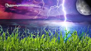 Music for Studying with Rain and Thunder Sounds | White Noise Helps You Study, Focus, Read, Write