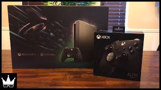 Xbox One X Eclipse Limited Edition Bundle Unboxing! [Xbox One X and Taco Bell] #AD