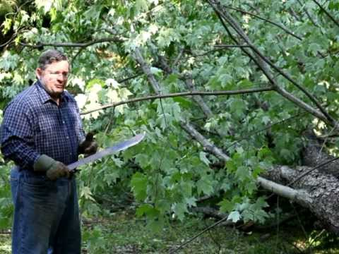 How to Use a Machete as a Tool