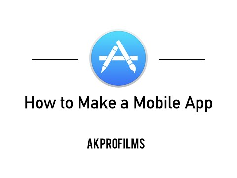 How to Make a Mobile App For FREE! - Make apps for phones