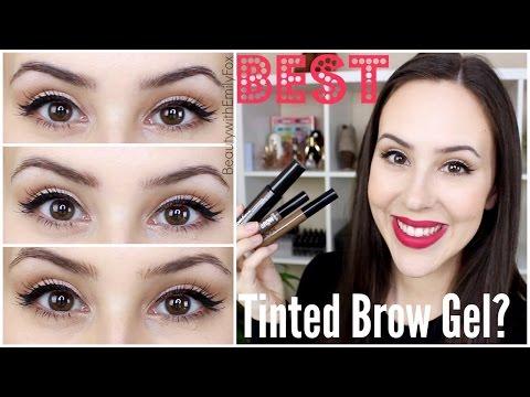 Best Tinted Brow Gel? Benefit VS NYX VS Maybelline Reviews