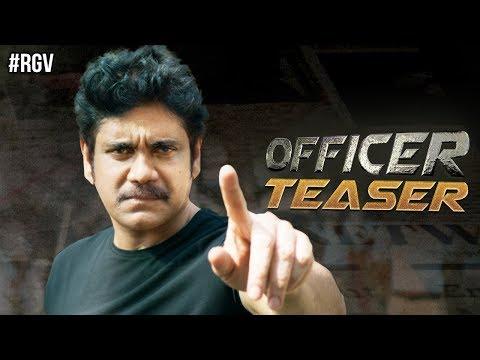 RGV's Officer Teaser | Nagarjuna | Ram Gopal Varma | Myra Sareen | #Officer | #NAGRGV4 | RGV thumbnail
