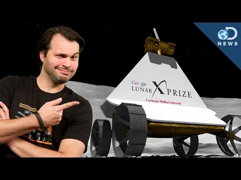 Google Announces New Milestones For Lunar XPRIZE!