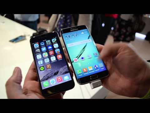Samsung Galaxy Edge VS Apple iPhone 6 - Comparison