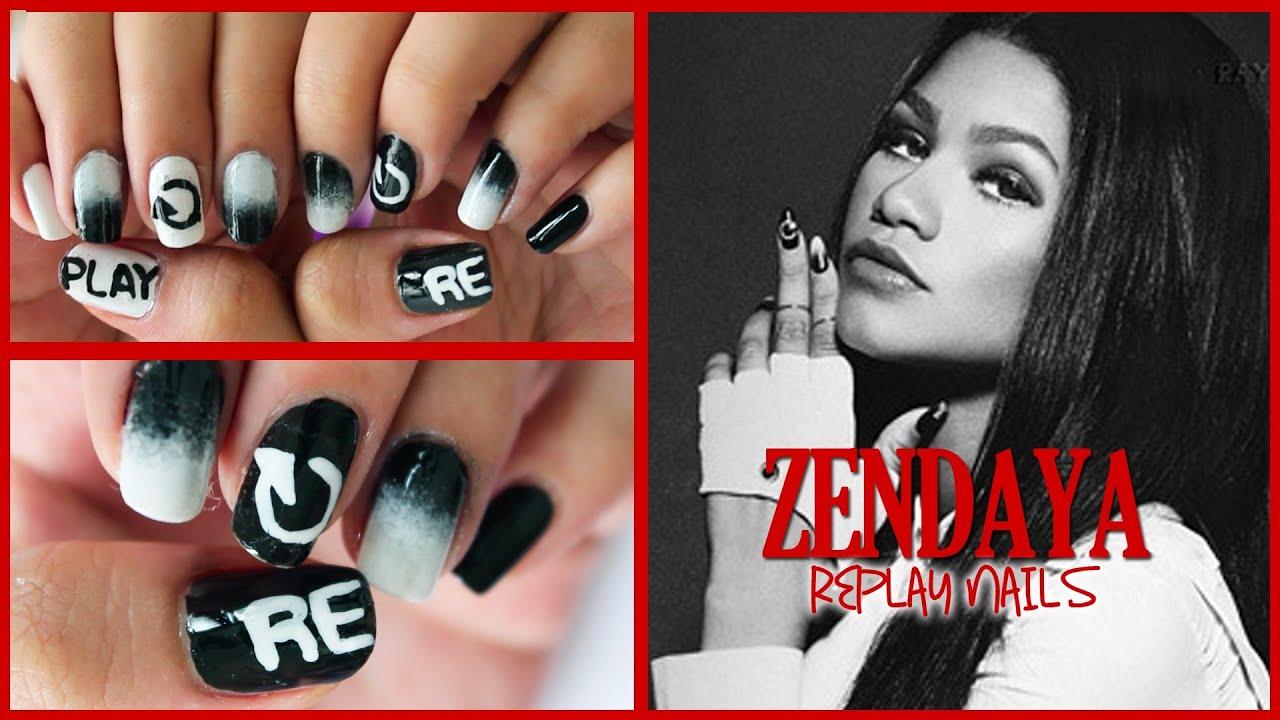 Zendaya - Replay Nails...