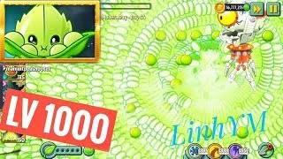 PVZ2 LinhYM Plants vs Zombies 2 Appease - Mint Level 1000 Android Version 7.0.1  ( No Root )