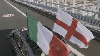 New Fiat 500 | The New 500 has crossed the new Genoa San Giorgio bridge - Concessionario Ladiauto - Media - Video