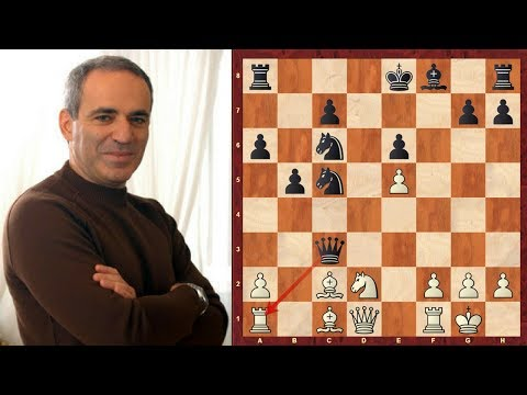 Ruy Lopez (Spanish Game) : Garry Kasparov vs Vishy Anand - PCA WCh (1995) - Game 10 - Brilliancy!