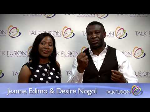 Blue Diamonds Jeanne Edimo & Desire Nongol (Talk Fusion Believe Event, 2013)
