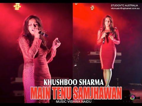MAIN TENU SAMJHAWAN  KHUSHBOO SHARMA LIVE AT VALENTINE SHOW 2015  HD VTC