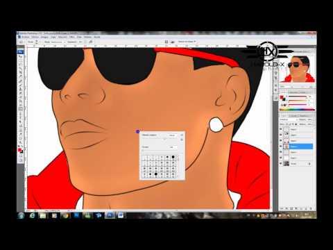 tutorial photoshop - dibujo(vector)