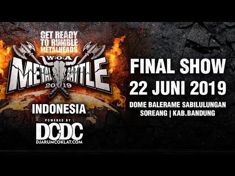 Download Live Streaming - DCDC FINAL SHOW Metal Battle Indonesia 2019 PART 1 Mp4 baru
