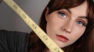 [ASMR] Measuring You - Detailed Close Up Personal Attention