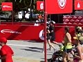 Ashley, Laura & Meghan cross finish line with Sam at BofA Chicago Marathon