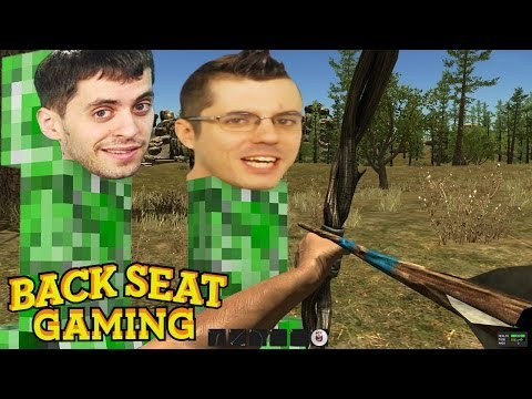 HUNTING IN ADULT MINECRAFT Backseat Gaming