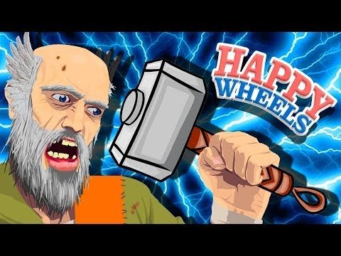 THOR'S HAMMER - Happy Wheels
