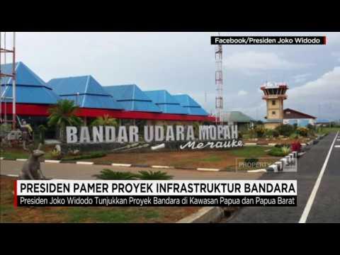 Presiden Jokowi Pamer Proyek Infrastruktur Bandara