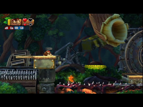 Donkey Kong Country: Tropical Freeze Walkthrough Part 1 Lost Mangroves