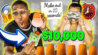 GUESS THE RIGHT CUP, WIN $10,000 | GETS INTENSE