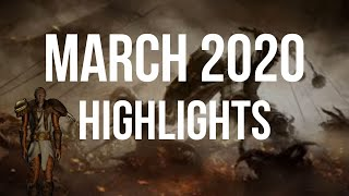 MARCH 2020 HIGHLIGHTS