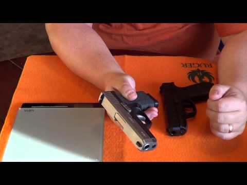 Bersa BP9CC vs Kahr CW9: Size & Feature Comparison