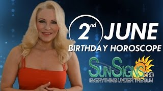 Birthday June 2nd Horoscope Personality Zodiac Sign Gemini Astrology