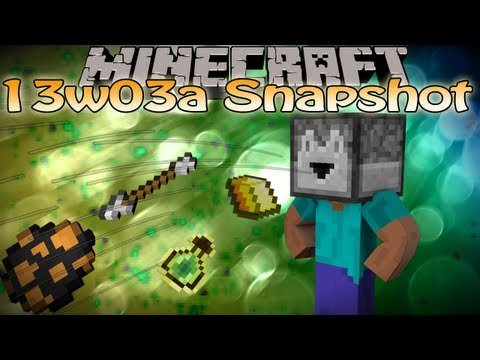 Minecraft 1.5 13w03a Snapshot Update - Dropper. testfor command block. stronger mobs & MORE!