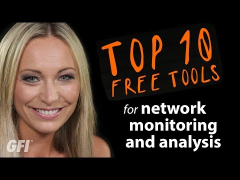 Top 10 free tools for network monitoring and analysis