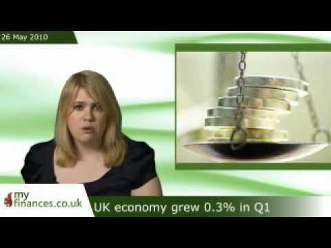 UK economy grew 0.3% in Q1