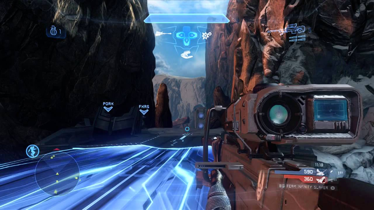 Halo 4 Multiplayer Gameplay 51 Big Team Infinity Slayer