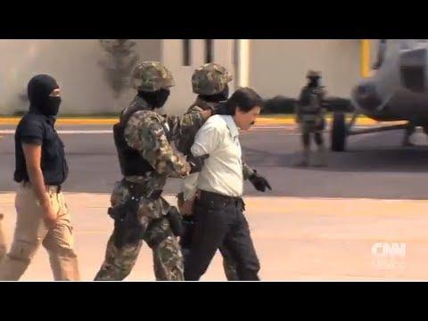 El momento del traslado de 'El Chapo' Guzmán