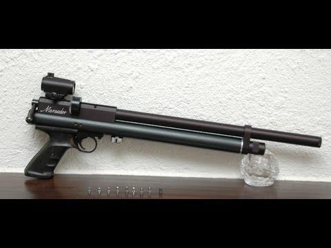 Custom .25 cal Benjamin Marauder pistol