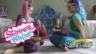 Sammi and Jamie Meet Shimmer and Shine IN REAL LIFE!