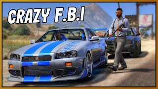 GTA 5 Roleplay - CRAZY FBI AGENT CHASED ME | RedlineRP #875